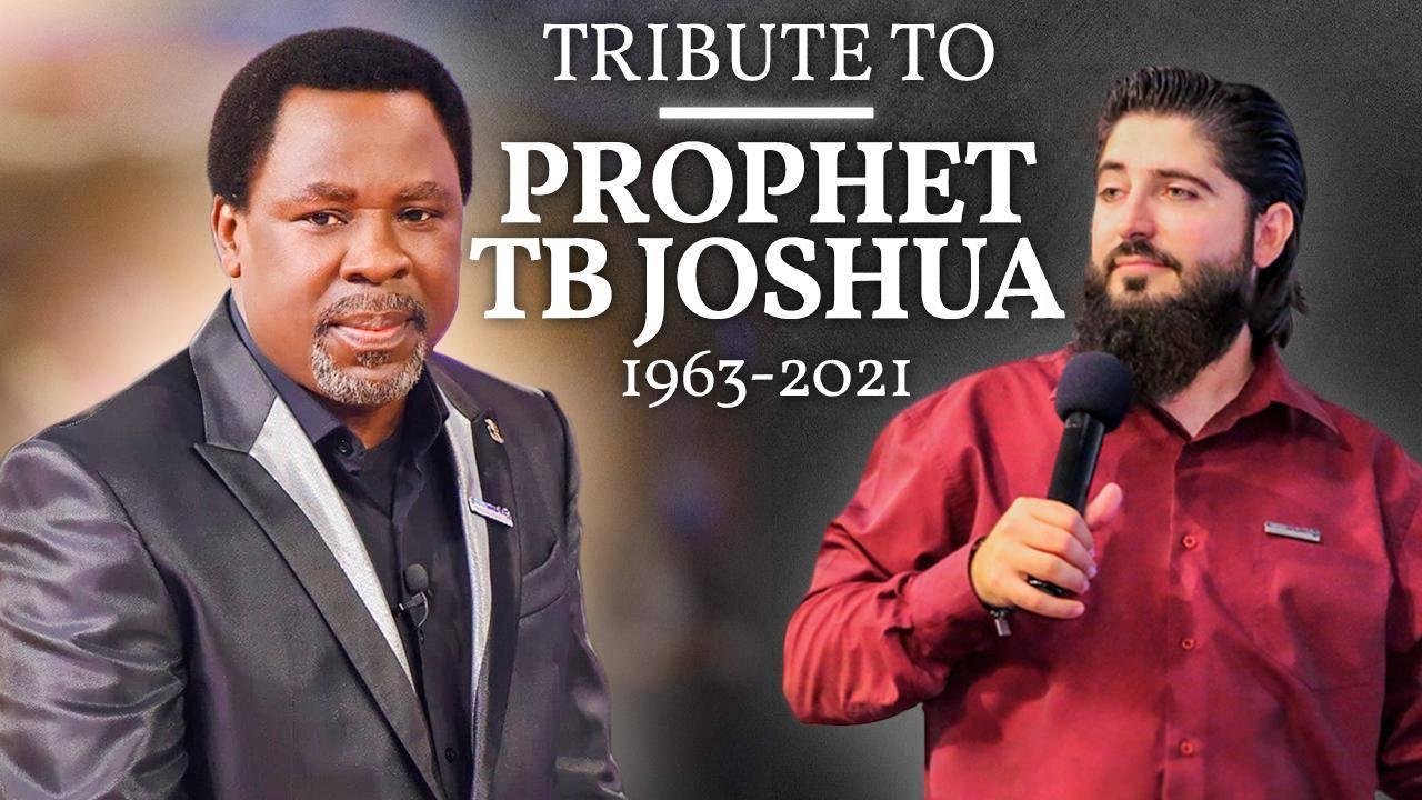 Homenaje A Profeta TB Joshua (1963-2021)